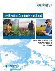 Certifi cation Candidate Handbook