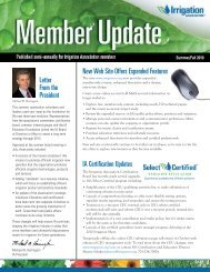 President New Web Site Offers Expanded Features IA Certification Updates