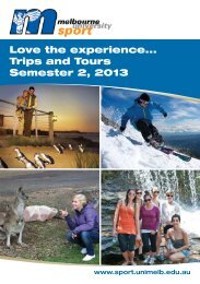 Love the experience.. Trips and Tours Semester 2 2013
