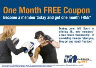 One Month FREE Coupon