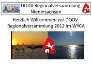 Einladung mit Tagesordnung - Optimist-Niedersachsen