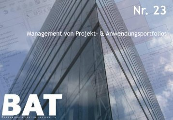 Treffe n Nr. 23 IT-Projektportfoliomanagement im Span