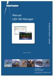 Manual LED SB Manager