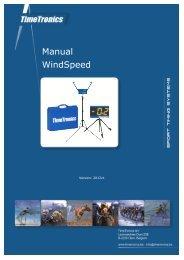Manual WindSpeed