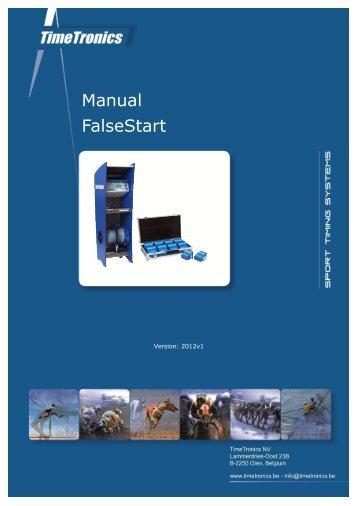 Manual FalseStart