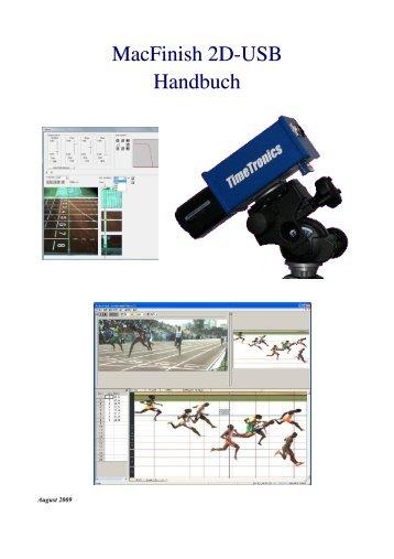 MacFinish 2D-USB Handbuch