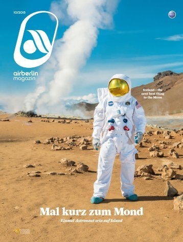 Oktober 2015 airberlin magazin - Mal kurz zum Mond