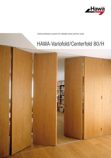 HAWA-Variofold/Centerfold 80/H - siforma