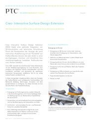 Creo® Interactive Surface Design Extension - Inneo