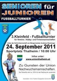 Plakat in einer pdf Datei downloaden - Union Thalheim