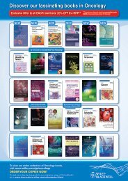 Discover our fascinating books in Oncology