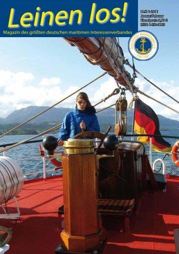 Auszug der Ausgabe Januar / Februar 2011 - Deutscher Marinebund