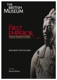RESOURCES FOR TEACHERS - British Museum