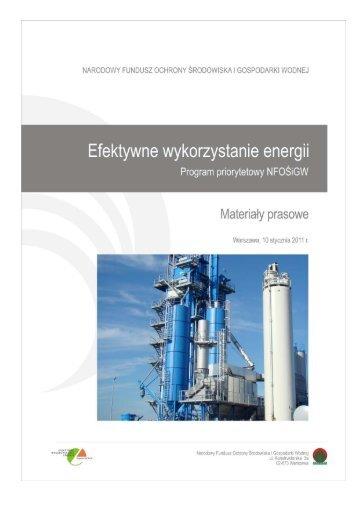 """Program """"Efektywne wykorzystanie energii"""""""