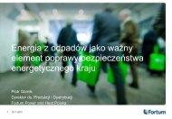 element poprawy bezpieczeństwa energetycznego kraju