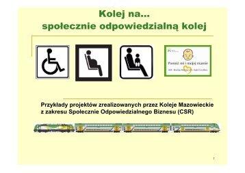 Kolej na… społecznie odpowiedzialną kolej