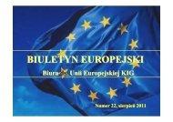 BIULETYN EUROPEJSKI