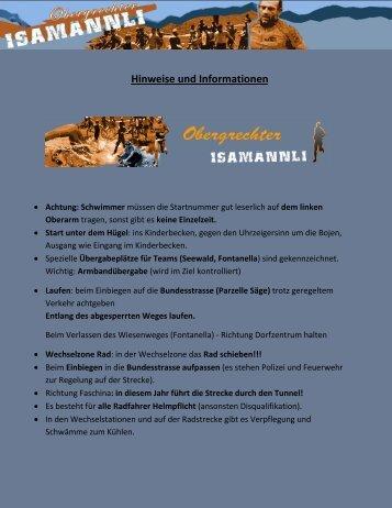 Hinweise und Informationen