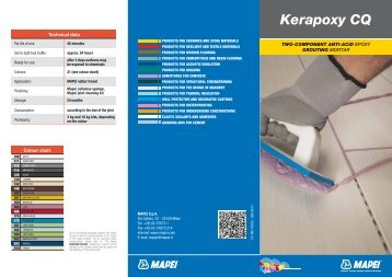 LEAFLET KERAPOXY CQ 2012 gb - Mapei