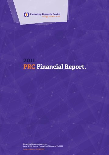 2011 PRC Financial Report