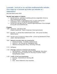 OPPDATERT PROGRAM (pdf) - Lusedata