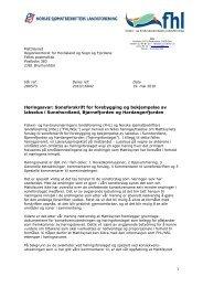 grunnlagsdokumentene konsekvensutredningen