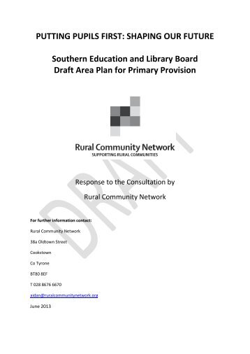 SHAPING OUR FUTURE Southern Education and Library Board ...
