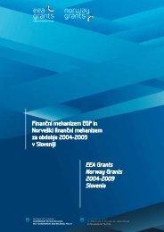 Financni mehanizem EGP in Norveški financni mehanizem za ...
