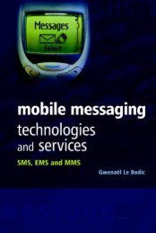 Mobile Messaging Technologies and Services: SMS, EMS ... - Read