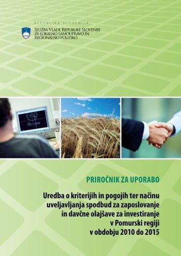 Priročnik za uporabo - Služba Vlade Republike Slovenije za lokalno ...