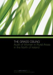 THE GRASS CEILING Audit of Women in Rural Areas in the North of Ireland