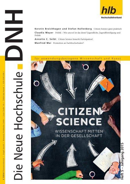 Die Neue Hochschule Heft 5/2015