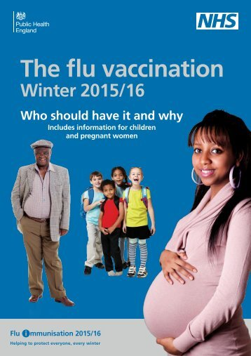 The flu vaccination
