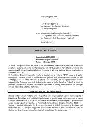 Roma, 19 aprile 2005 Alle Società Sportive Ai Presidenti dei ...