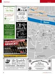 In der Stadtmitte...  ... wo sonst - Regensburger Stadtzeitung