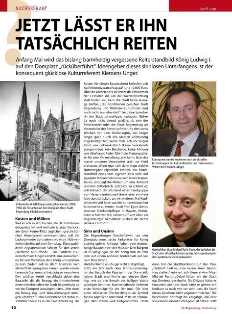 Regensburg Stadtzeitung