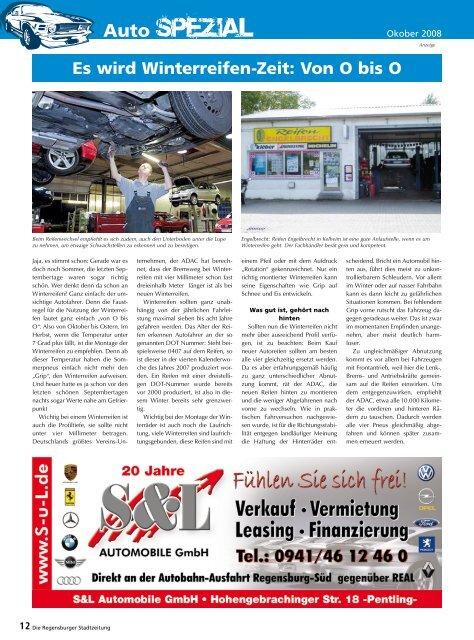 Auto-Spezial (2203 kb) - Regensburger Stadtzeitung
