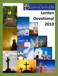 Lenten Devotional 2010