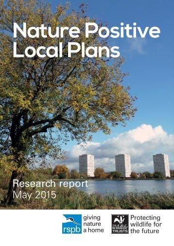 Nature Positive Local Plans