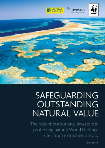OUTSTANDING NATURAL VALUE