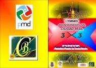 I Torneo 3x3 Ayuntamiento de Ciudad Real NORMATIVA
