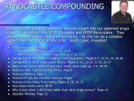 RANDCASTLE COMPOUNDING