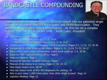 RANDCASTLE COMPOUNDING