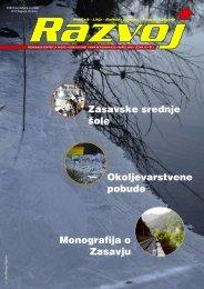 Zasavske srednje šole Okoljevarstvene pobude Monografija o Zasavju