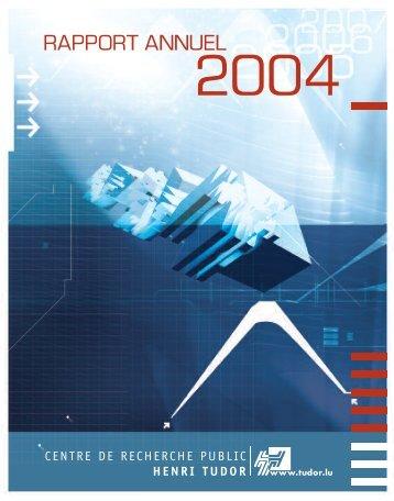 editorial 2004 - CRP Henri Tudor