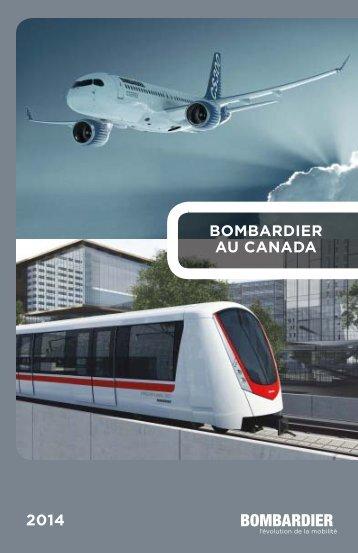 2014 BOMBARDIER AU CANADA