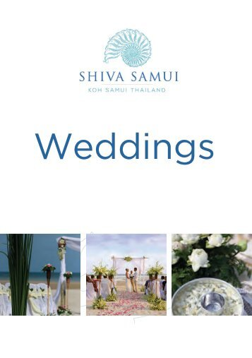Shiva Samui Wedding Packages