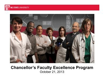 Chancellor's Faculty Excellence Program