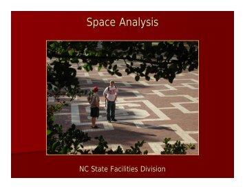 Space Analysis