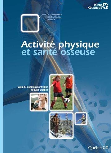 Activité physique et santé osseuse